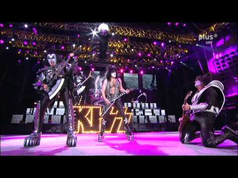 KISS Paul Stanley Guitar Solo Black Diamond Rock Am Ring 2010 Sonic Boom Over Europe Tour