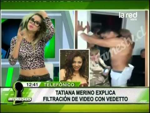 Tatiana Merino explica filtración de video con vedetto