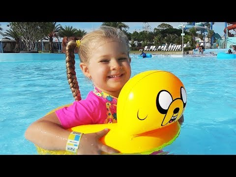 Xxx Mp4 Diana And Papa Pretend Play At The WaterPark My Super Fun Day With Dad And Kids Toys 3gp Sex