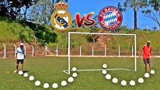 Real Madrid x Bayern Munchen -  Desafios De futebol