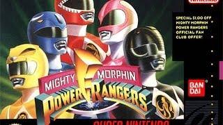 SNES Mighty Morphin Power Rangers Video Walkthrough