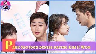 Park Seo Joon denies dating Kim Ji Won