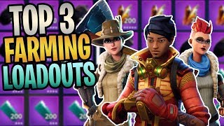 FORTNITE - How To Turbo Farm Everything In Save The World (Top 3 Fastest Farming Hero Loadouts)