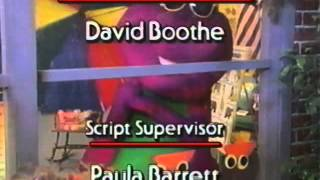 Barney Goes to School Credits (1990)