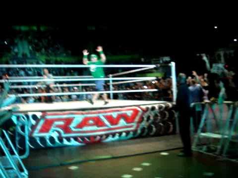 WWE RAW São Paulo John Cena e Dolph Ziggler com Mason Ryan Entrada