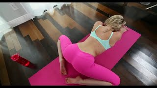 Yoga Home Work out Yoga to Increase Flexibility, Stretching fitness Toning Yoga