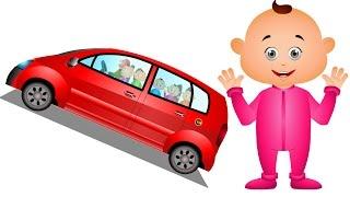 Five Little Babies Visiting Vehicle Showroom | Five Little Babies Collection | Jam Jammies
