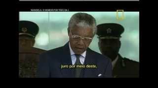 Toma de posesión de Nelson Mandela (Subtitulos Castellano y Portugues)