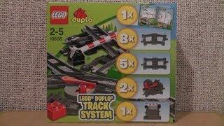 LEGO DUPLO 10506 TORY KOLEJOWE + 10507 10508