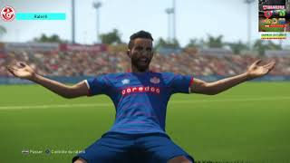 PS4 PES 2018 Gameplay Etoile Du Sahel vs Club Africain [HD]