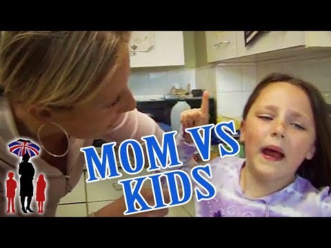 Angry Mom vs Tantruming 7yr Old In Naughty Corner | Supernanny
