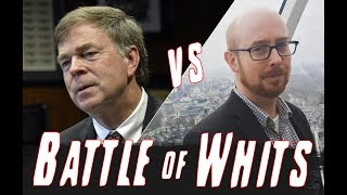 Huntsville Mayor Tommy Battle and Kyle Whitmire are facing off in a Battle of Whits