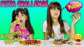 PIZZA CHALLENGE - Gross and DisgustingToppings Combination
