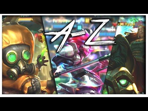 DONGER TIME! ILLAOI JUNGLE! • Dyrus ft.Tobias Fate, Annie Bot A-Z Ep #10 (Hecarim -Illaoi)