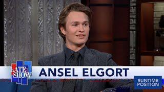 Ansel Elgort Loves His Name's Anagram: Legal Stoner