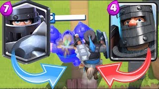 Clash Royal 2V2 challenge The mega knight! + Amazon Coins FF15!