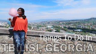 GEORGIA TRAVEL VLOG - Things To Do In Tbilisi - Sakartvelo - The CHEAPEST EUROPEAN Vacation?