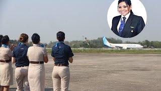 আকাশে উড়ে বেড়ােচ্ছেন সিলেটের নারী | Sylhet Air Pailot Sadia | Sylhet TV