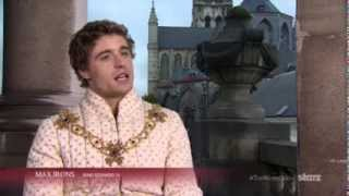 Max Irons on King Edward IV The White Queen