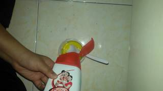 How to make slime without dynamo,renu or borax solution..😘