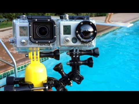 GoPro HERO3: Black Edition vs HERO2 (Underwater Comparison)