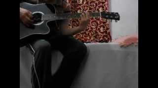 jaan-e-jaan is dil mein tum saawariya guitar cover