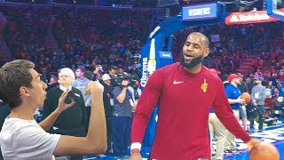 SHOWING LEBRON JAMES MY KEVIN DURANT DISS TRACK!! NOT CLICKBAIT