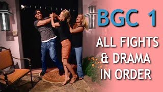 BGC1: All Fights & Drama In Order [Part 3] (HD)