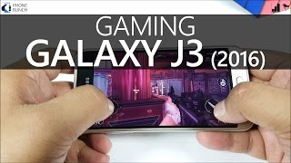 Samsung Galaxy J3 2016 Gaming Review, Benchmarks  - Does it Lag?