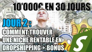 COMMENT TROUVER UNE NICHE RENTABLE EN DROPSHIPPING ? (Episode 2/4)