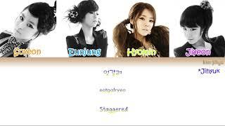 T-ARA & Supernova (티아라 & 초신성) – TIME TO LOVE (TTL) Lyrics (Han|Rom|Eng|Color Coded) #TBS