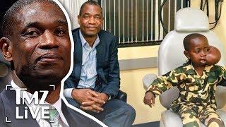 Dikembe Mutombo Flies 8-Year-Old Boy w/ Large Tumor to U.S. for Surgery | TMZ Live