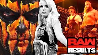 KANE RETURNS! WWE Raw 10/16/17 REVIEW- Going in Raw Wrestling Podcast Ep 302