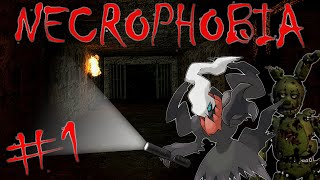 NECROPHOBIA | Garry's Mod (GMod Custom Horror Map) Funny Moments Let's Play Part 1