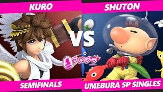 Japan Smash Ultimate Tournament - SST | Shuton (Olimar) Vs. Kuro (Pit) Umebura SP SSBU Semifinals