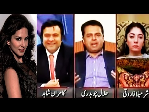 On The Front 11 April 2016 - Sunny Leone comes in Talal Chaudhry Dreams - Sharmila
