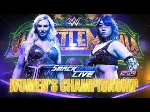 Xxx Mp4 WWE WrestleMania 34 Special Part 2 Charlotte Vs Asuka StreakVsTitle 3gp Sex