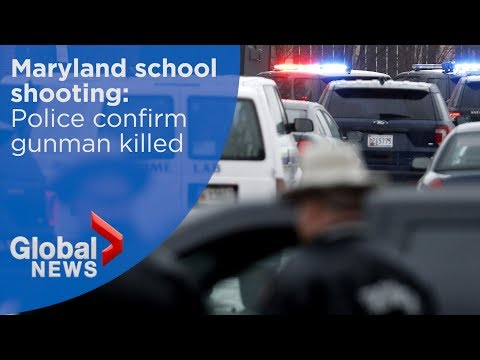 Xxx Mp4 Maryland School Shooting Police Confirm Gunman Killed In Incident 3gp Sex