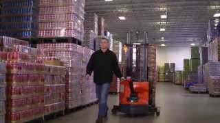 Toyota Electric Walkie Stacker Official Video