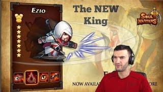 Soul Hunters  Epic NEW Hero Ezio 7 Star Spotlight