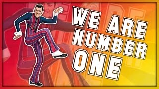 We are number one but its just Mark dancing