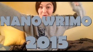 NANOWRIMO 2015!