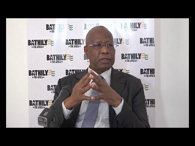 Abdoulaye Bathily expose à Abidjan ses ambitions à la Commission de l'UA
