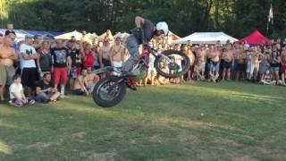 MotoLužany 2016 - Lukáš Petráček - Stunt Trial Show