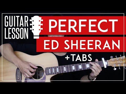 Perfect Guitar Tutorial - Ed Sheeran Guitar Lesson 🎸 |Solo + Fingerpicking + Chords + Guitar Cover|
