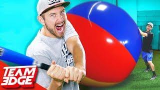 Beach Ball Baseball Home Run Derby!!