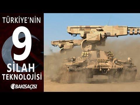 Türkiye'nin Silahları 2018 - Türkiye'nin Ürettiği En Etkili 9 Silah