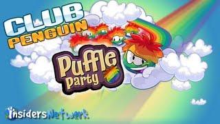 Club Penguin: Puffle Party 2013 Walkthrough