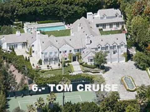top 10 Las mansiones mas bonitas de los famosos