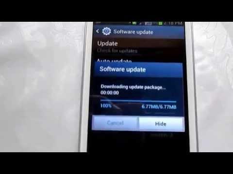 Samsung Galaxy Star Pro Software Update - First Firmware Update